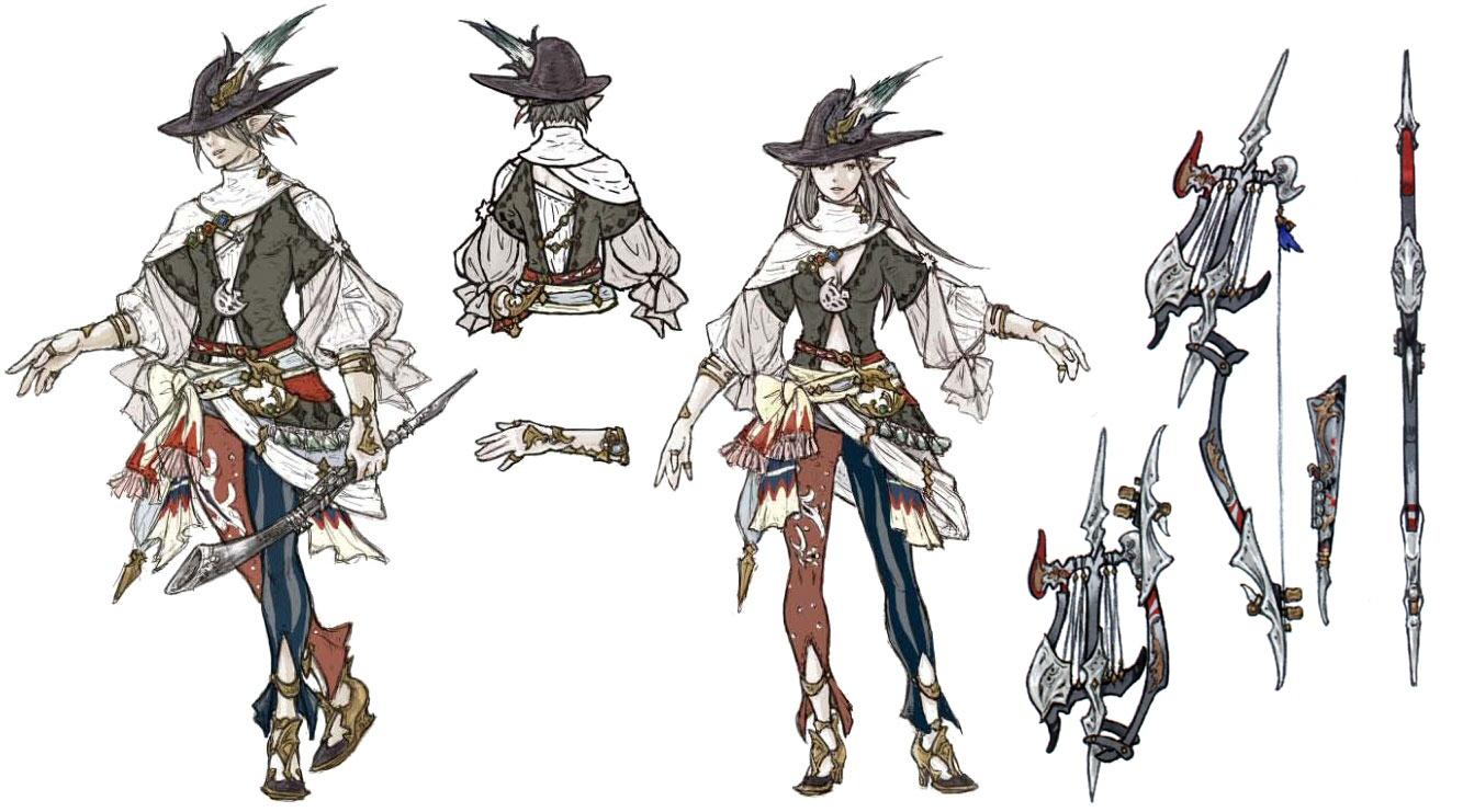 image ffxiv bard relic concept art jpg final fantasy wiki