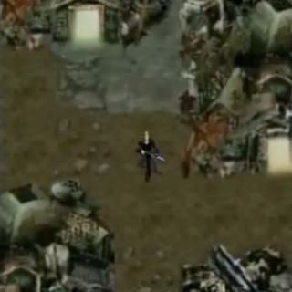 Трущобы Сектора 5 в <i>Before Crisis -Final Fantasy VII-</i>.