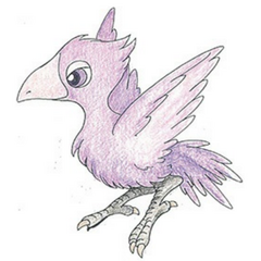 Black Chocobo colored