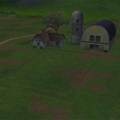 Farm as it appears in <i>Crisis Core -Final Fantasy VII-</i>.