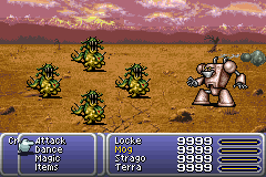 FFVI Golem Summon