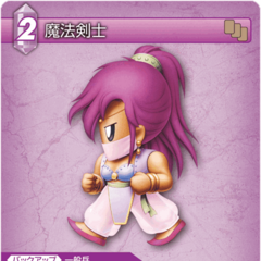 Trading card (Mystic Knight).