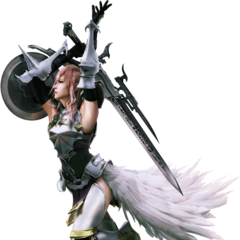 Alternative render for <i>Final Fantasy XIII-2</i>.