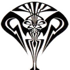 The crest of Lindzei, forming the symbol of the Sanctum and the brand for Sanctum l'Cie.