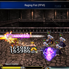 Raging Fists (FFVI version) in <i><a href=