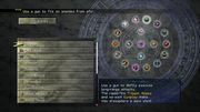 FFX-2 HD Dresspheres Menu