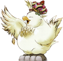 Fat Chocobo FFIX Artwork