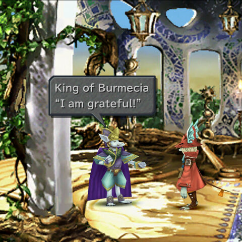 The King of Burmecia with <a href=