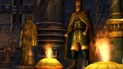 FFX HD Gandof & Ohalland Statues