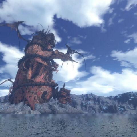 Mor Dhona na primeira versão do jogo.