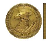 Sam's Coin artwork for Final Fantasy VII Remake