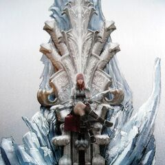Сканированное изображение Лайтнинг в форме Гвардейского Корпуса на Троне Этро.