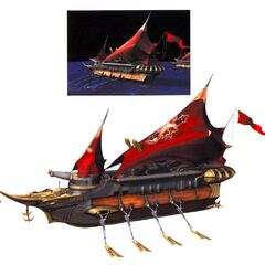 Concept artwork of Brahne's Fleet.