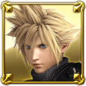 DFFNT Player Icon Cloud Strife DFFNT 001