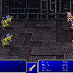 Cure VI в <i>Final Fantasy II</i> (<a href=