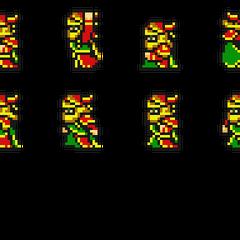 Set of Gogo's sprites.