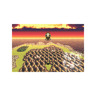 Phoenix Cave on the World Map (GBA).
