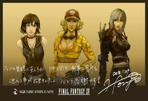 FFXV Iris Cindy Aranea 2-year anniversary artwork