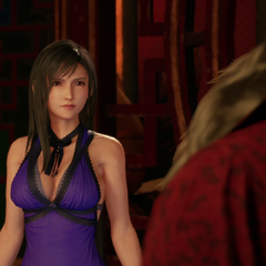 Tifa before Corneo.