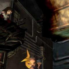 Клауд падает из реактора.