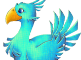 Chocobo blu