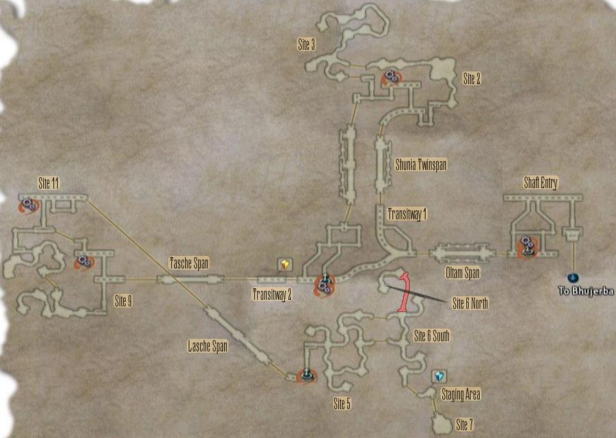 FF12 Map - Lhusu Mines