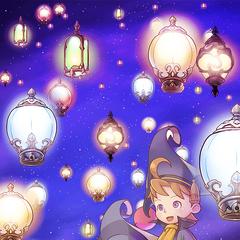 Tela de título do <i>Tōrō Nagashi</i> de 2017 da versão japonesa.