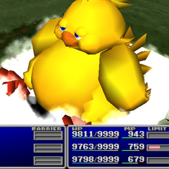 Choco/Mog with Fat Chocobo.