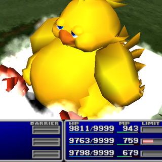 Fat Chocobo from <i>Final Fantasy VII</i>.