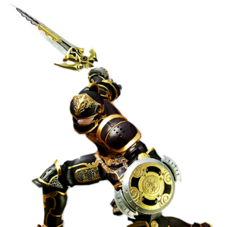 Un gladiador en <i>A Realm Reborn</i>.