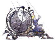 Mid Celestial Robot Artwork