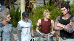 Party Custom Outfits FFXV