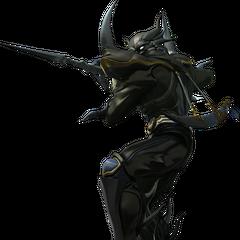 Render em CG de Cecil como Cavaleiro Sombrio.