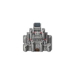 Castle sprite (PSP).