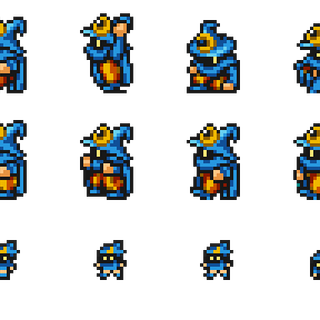 Sprites of the Magus.
