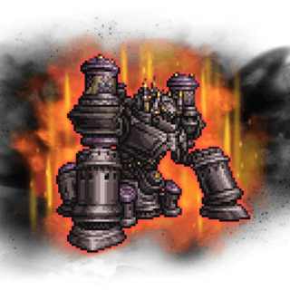 <i>Final Fantasy XI</i> boss sprite.