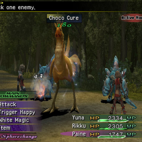 chocobo final fantasy x2 enemy final fantasy wiki