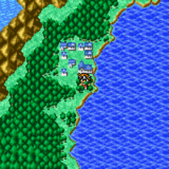 Onrac on the World Map (GBA).