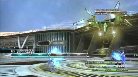 Final Fantasy XIII Combat contre Attaquant Kalavinka