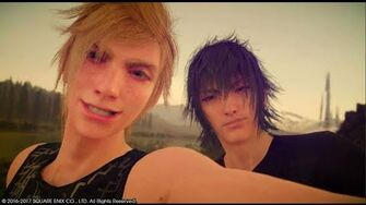 Final Fantasy XV - All Link Strikes Episode Prompto