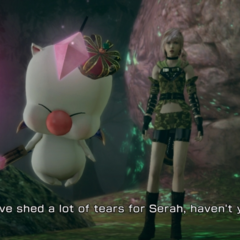 Mog em <i>Lightning Returns: Final Fantasy XIII</i>.