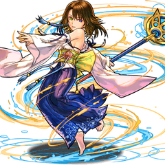 No. 2044 Determined Summoner, Yuna (7★).