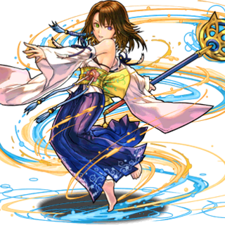 No. 2044 Determined Summoner, Yuna.
