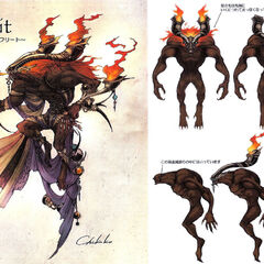 Art of Ifrit.