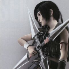 Костюм Юффи из <i>Advent Children</i> для <i>Final Fantasy VII Anniversary</i>.