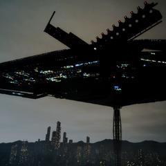 Zegnautus Keep above the city of Gralea.
