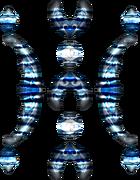 Élémentaire blanc X