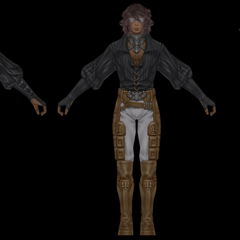 Character model for Al-Cid.