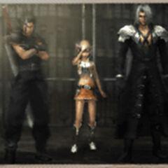 Фотография, сделанная горожанином в <i>Crisis Core -Final Fantasy VII-</i>.