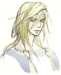 Kain Highwind (colour sketch, 2007)